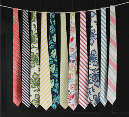 Scraggy Neck Design - Handmade Neckties